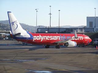 Polynesian Blue B737-800