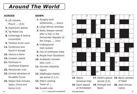 easy printable crossword puzzles   Elder Care & Dementia