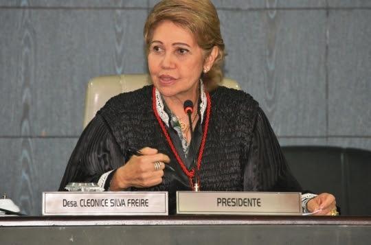 Desembargadora Cleonice Freire assume a vice-presidência da ANDES.