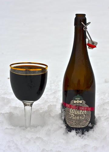 Review: Muskoka Winter Beard 2011 - Double Chocolate Cranberry Stout by Cody La Bière