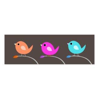 3 Birds Bookmark profilecard
