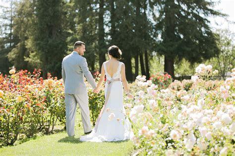 San Jose Munipical Rose Garden Wedding: Le   Sal   Jasmine