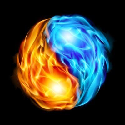 Twin Flame love symbol image