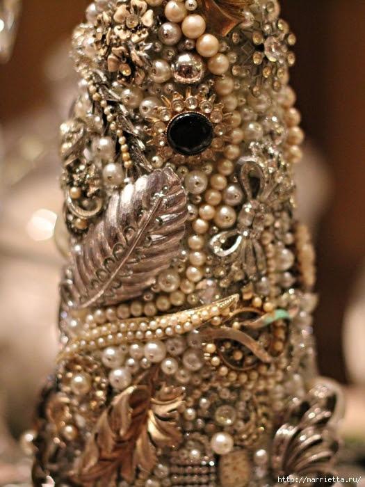 Bolas de Navidad preciosos y abeto de perlas y perlas (7) (525x700, 318Kb)