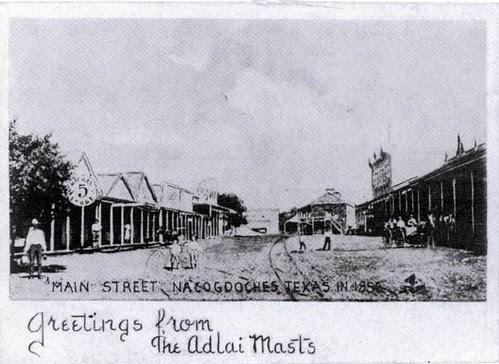 Main Street Nacogdoches, 1858