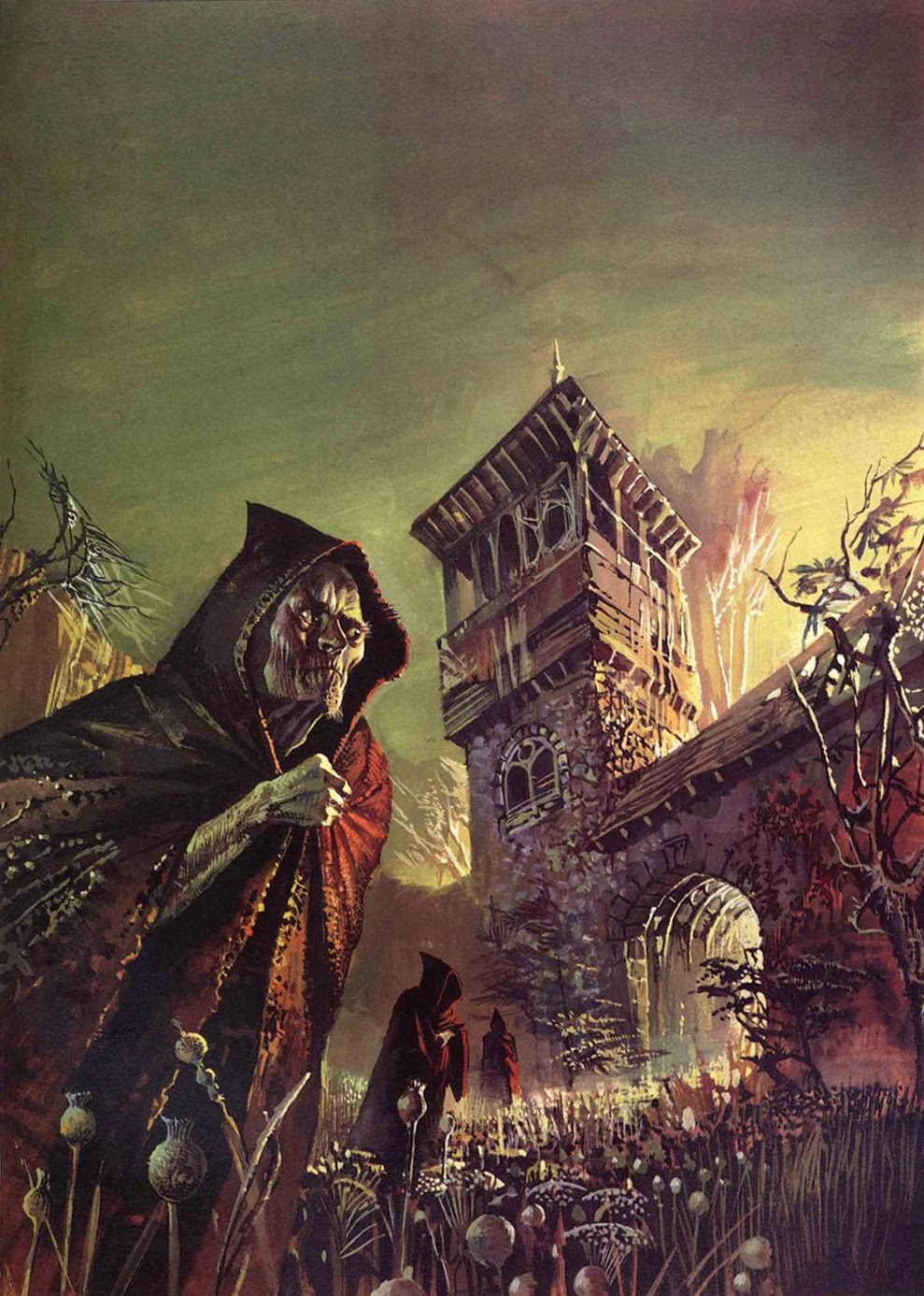 Bruce Pennington - H. P. Lovecraft & Others, Tales Of The Cthulhu Mythos Vol. 2, 1974