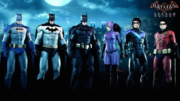 Donos do passe de temporada de 'Batman: Arkham Knight' também receberão pacote de skins em agosto (Foto: Divulgação/WB Games)