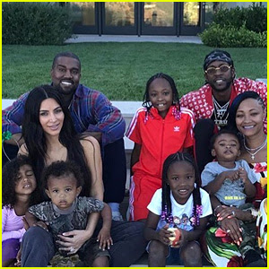 Kim Kardashian & Kanye West Host Epic Fourth of July BBQ