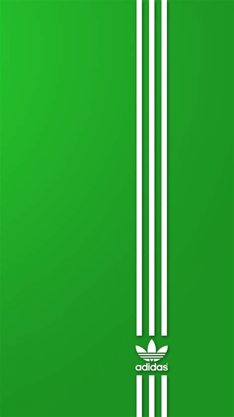 Download HD Adidas Green Right Side Logo Symbol Wallpaper