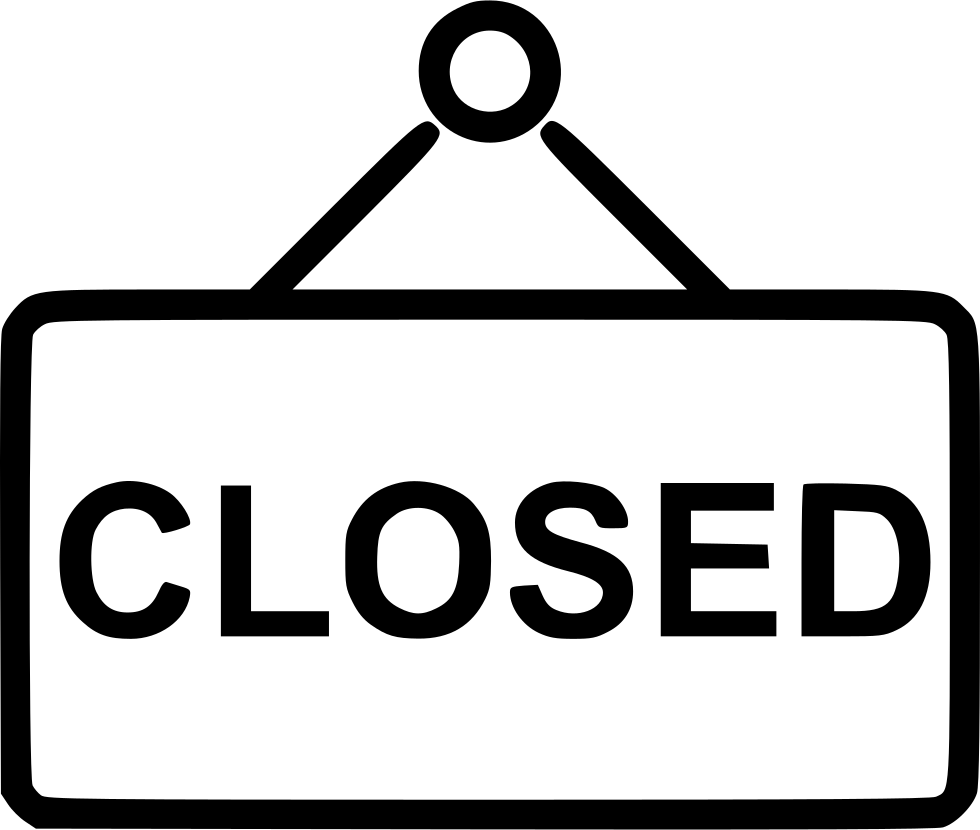 Closed Sign Svg Png Icon Free Download (#553489 ...