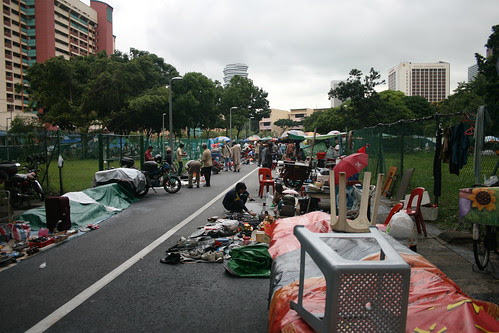 Singapore Thieves Market at Sungei Road