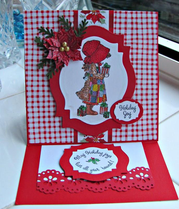 Holly Hobbie Easel card