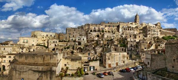 Ciudad fantasma de Craco en Italia