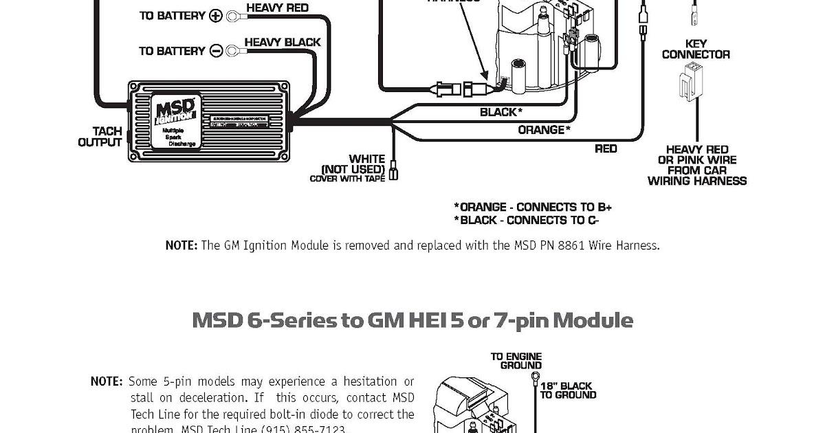 Msd Ignition Box Wiring Diagram