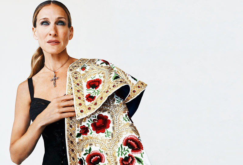 Sarah Jessica Parker by Gonzalo Machado for S Moda