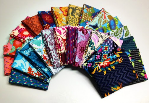 Dowry by Anna Maria Horner for Friday's Fabric Giveaway with The Knotted Thread!!