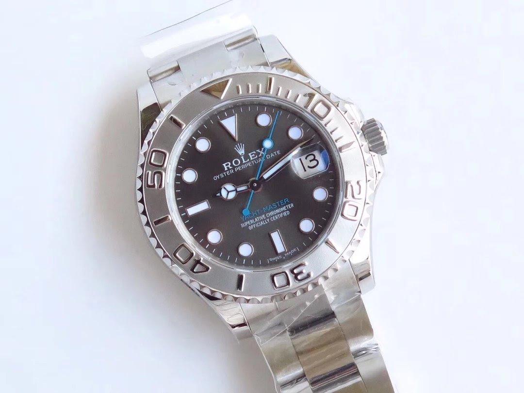 ARF Replica Rolex YachtMaster Grey Watch