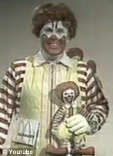 Ronald McDonald in 1971