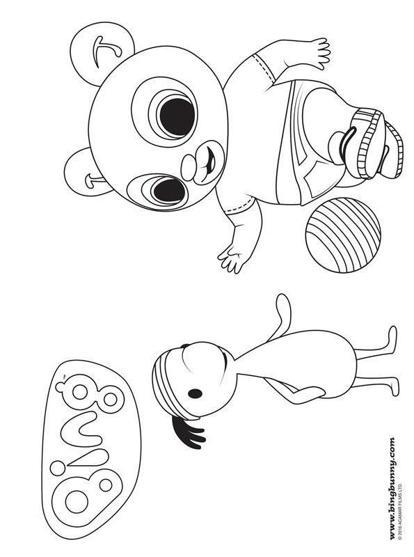 Kids-n-fun.com   Coloring page Bing Bunny Bing 16
