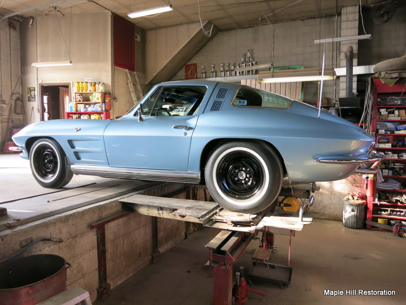 1964 Chevrolet Corvette Wheel Alignment Maple Hill Restoration