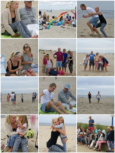 family day at the beach by wood & wool stool