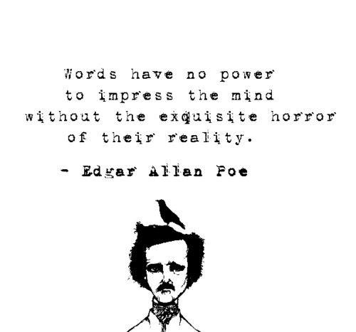 Horror Quotes Edgar Allan Poe. QuotesGram
