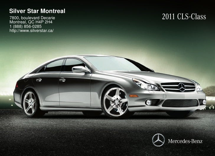 2011 Mercedes Benz CLS550 Coupe Silver Star Montreal QC Canada
