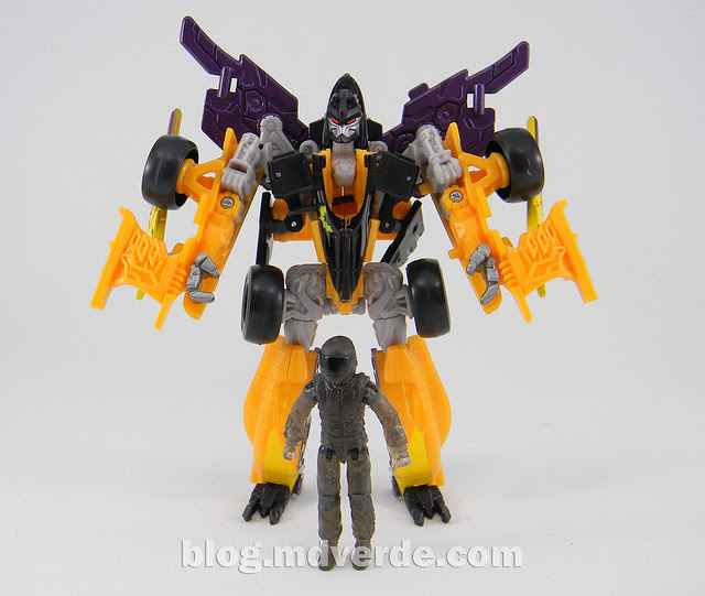 Transformers Drag Strip - Human Alliance Scout - Dark of the Moon - modo robot