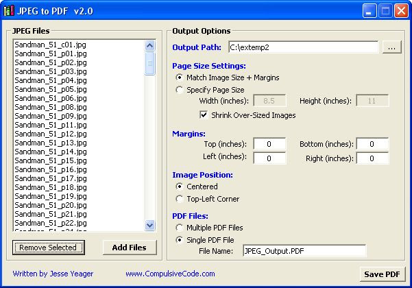 Jpeg To Pdf Convert Jpgs To Pdfs Quickly And Easily Freewaregenius Com