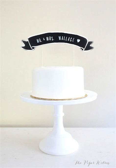 20 Amazing and Unique Wedding Cake Toppers · Rock n Roll Bride
