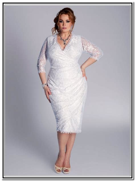 3 Short Plus Size Wedding Dress Styles ? Plus size Dresses