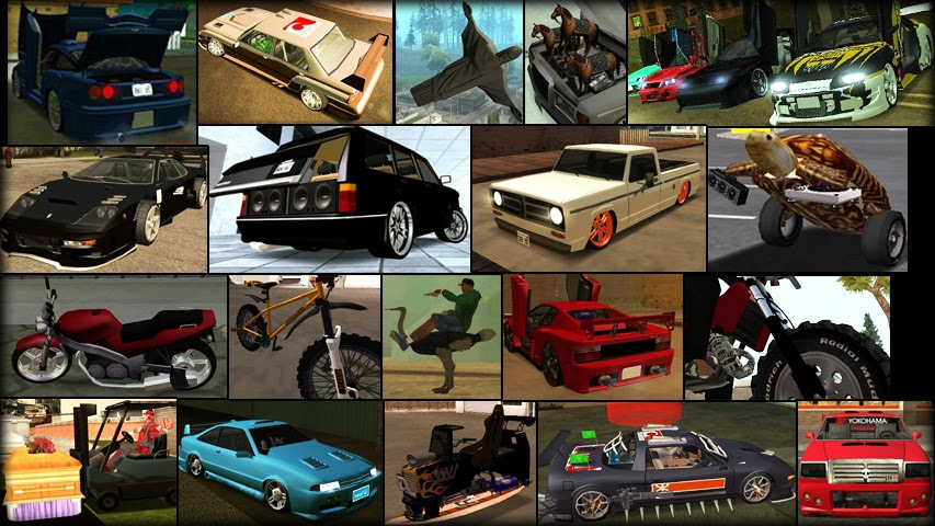 Tuning Mod V1 1 By Junior_djjr For Grand Theft Auto San