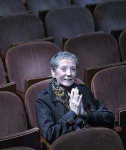 Rosa Novell, en el Romea, en octubre.