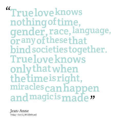 Quotes About True Love In Time 45 Quotes
