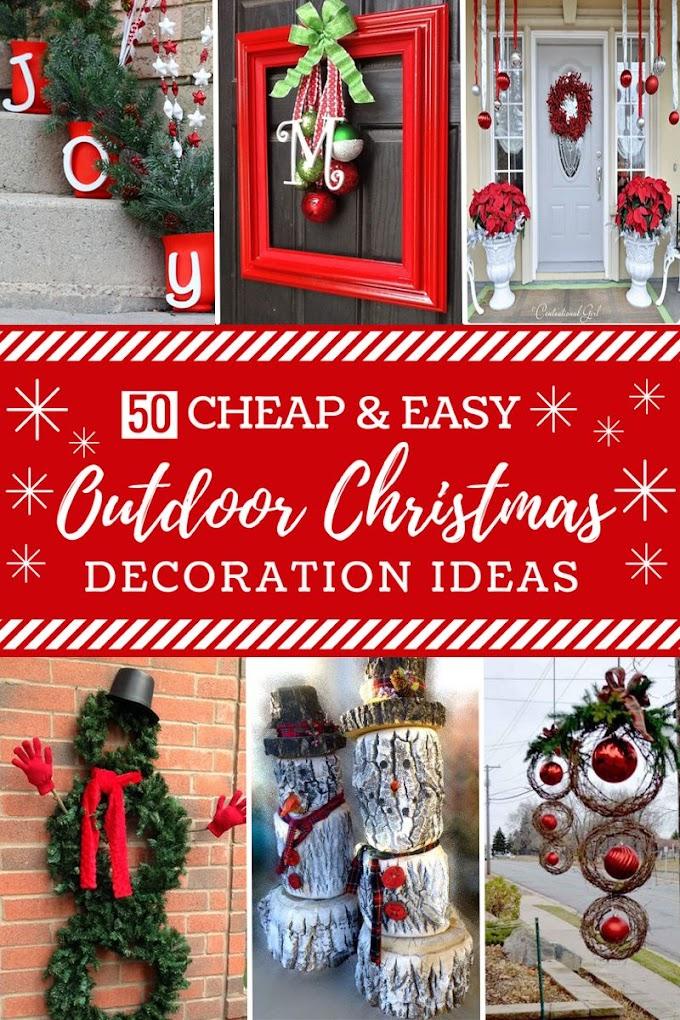 Easy Christmas Decor Diy Budget