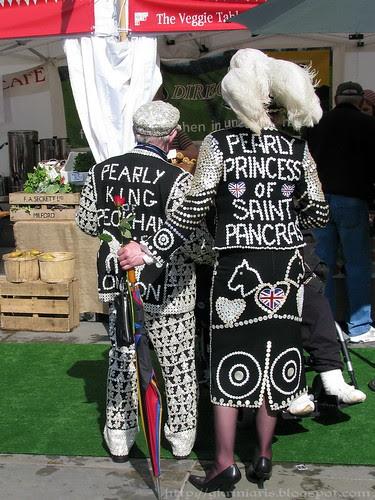 Pearly king and princess