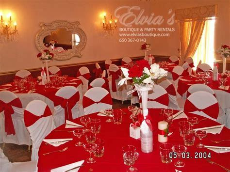 Halls   Red   EB Party Rental » EB Party Rental