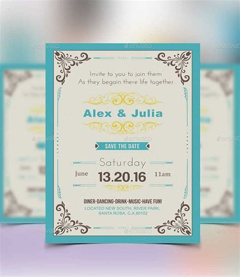 41  Invitation Card Templates   PSD, Word   Free & Premium