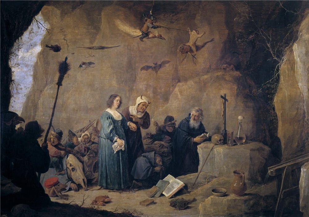 Amazon.com: 'Teniers David Tentaciones De San Antonio Abad 1647 ...
