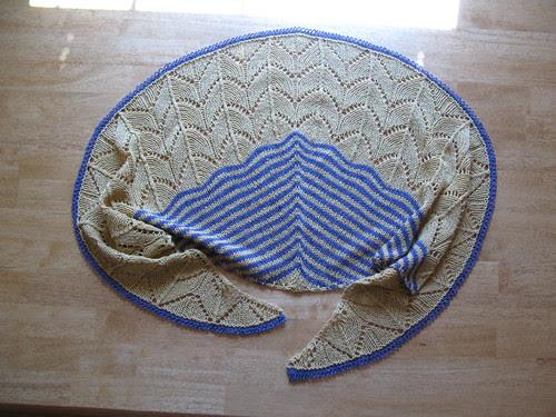 Traveling Woman shawl
