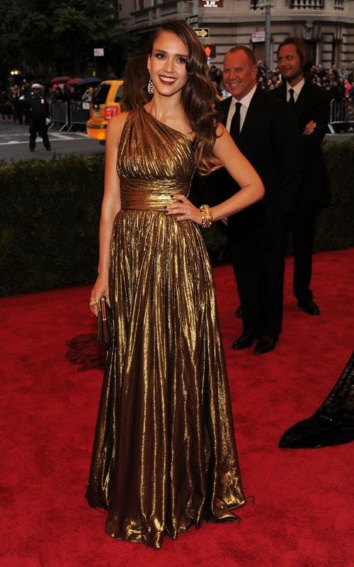 Costume Institute Gala Met Ball - May 7, 2012, Jessica Alba
