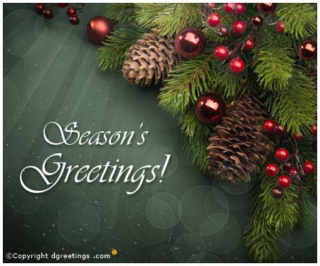 Season's Greetings eCard