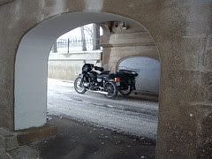 Ural under bridge