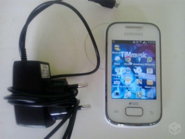 Celular Desbloqueado Samsung Galaxy S4 Gt I9500 Branco Com: Smartphone Ofertas: Celular Samsung Pocket 2 Chips