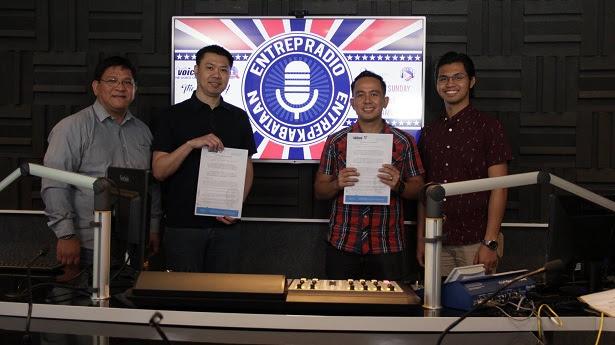 MOA Signing between Negosyo Kabataan and AFFI