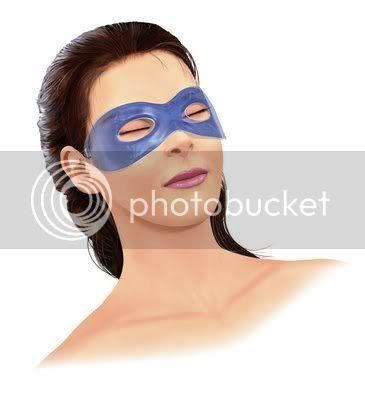 olheiras mascaras