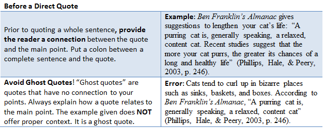 How to cite a famous quote in apa style as i lay dying thesis ideas