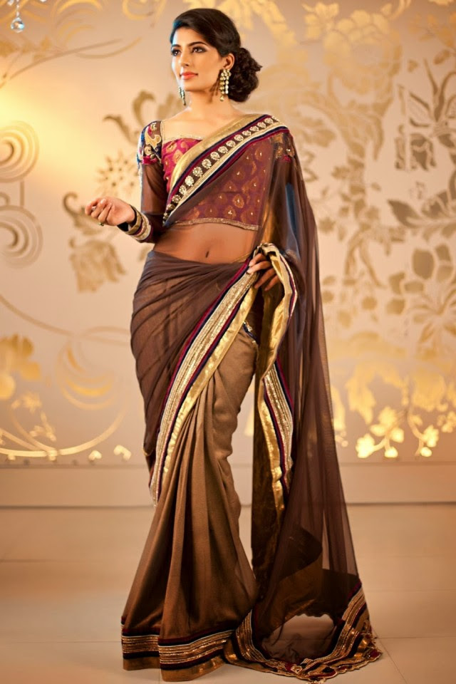 Bridal-Wedding-Formal-Casual-Party-Wear-Sarees-Dress-New-Fashion-Sari-for-Brides-by-Designer-Satya-Paul-5