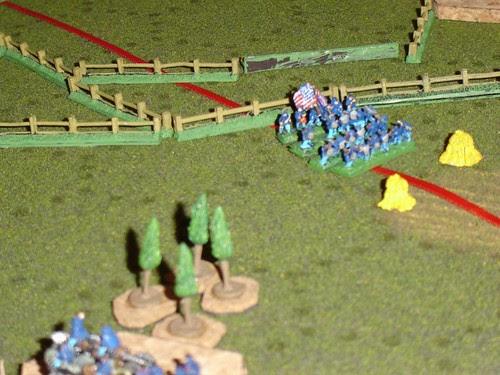 Slocum's Corps advances past the Wheatfield