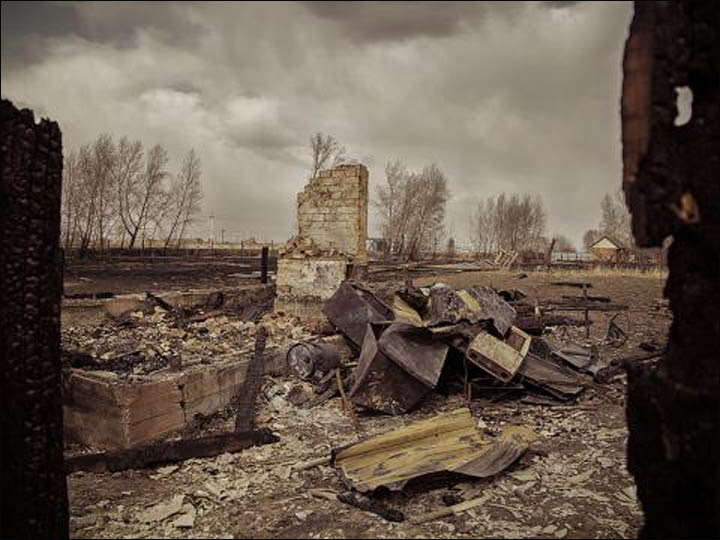 Wildfires in Khakassia